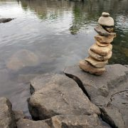 River rafting start point