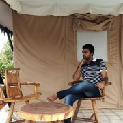 Sit out area at kolad tents