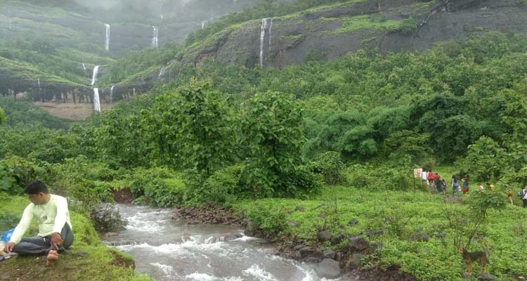 Zenith Waterfall water stream