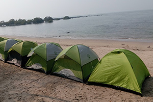kashid beach camping