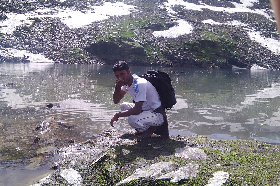 Camping at Bhrigu Lake