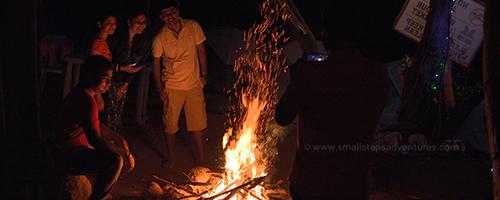 Campfire pavana