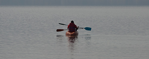 Kayaking at pavana