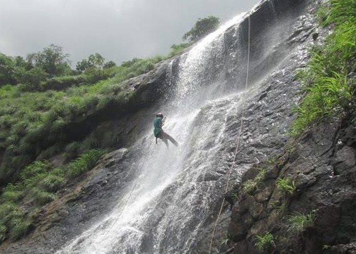 Diksal Waterfall Rappling