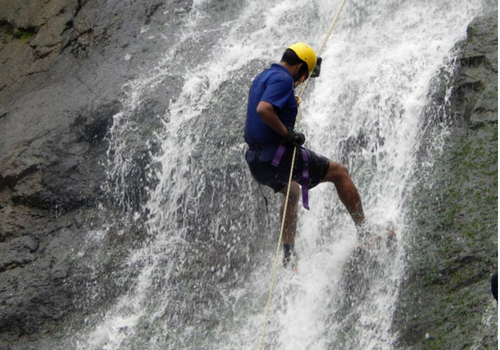 Dodhani Rappelling