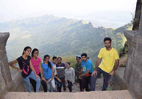 One day trek to Rajgad fort