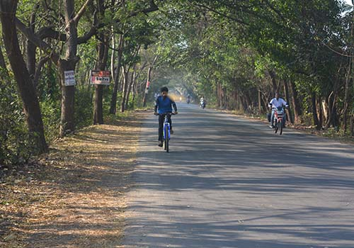 cycling to alibaug