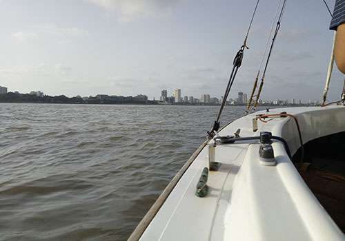 sailing at mumbai