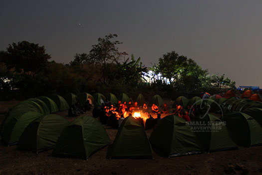Night Trek and Camping at Prabalmachi