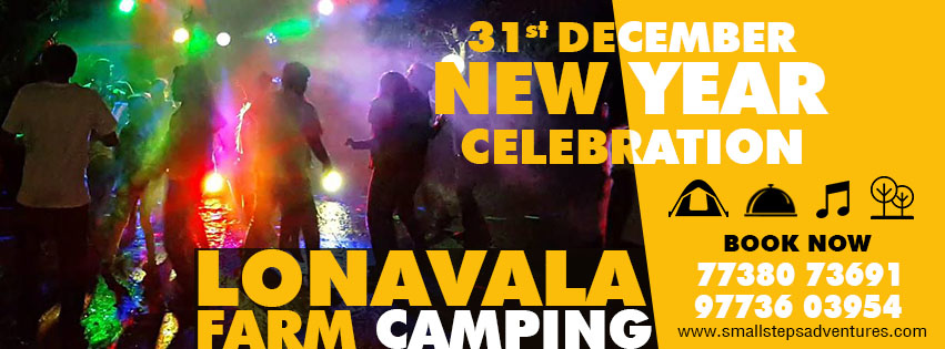 New Year Celebration Adventure camping