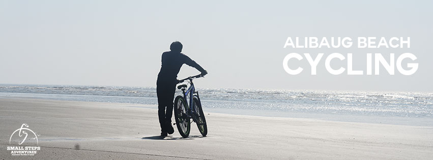 Alibaug beach cycling